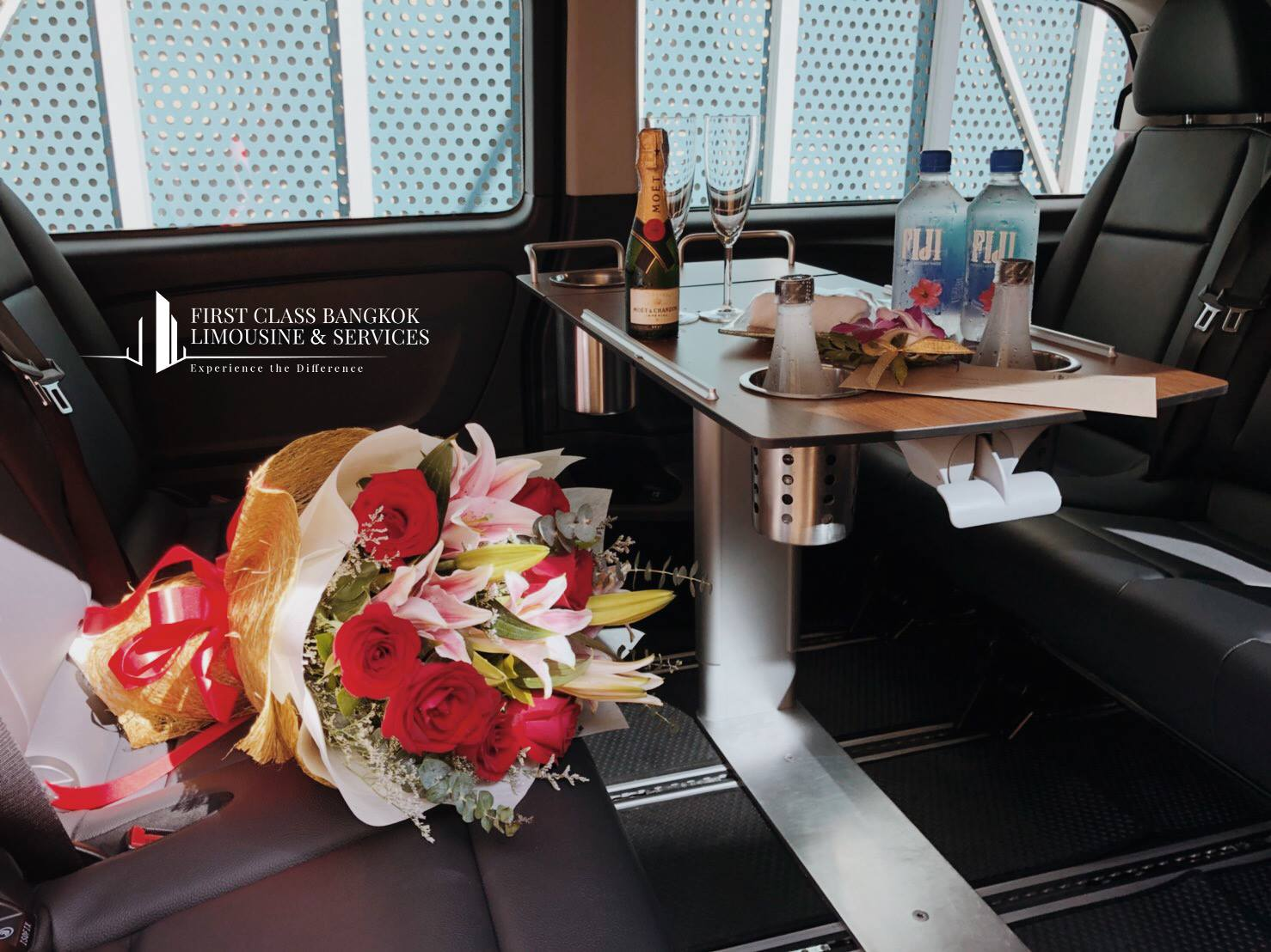 Image of How about a Romantic First Class Bangkok Limousine Airport Transfer