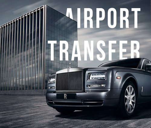 Image of airport transfer