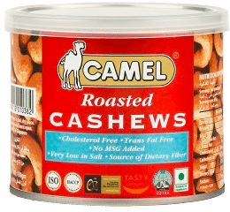 Image of camel ROASTED CASHEWS copy