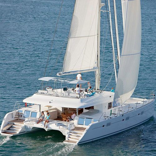 Image of catamaran