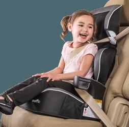 Image of older child car seat