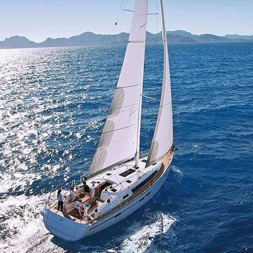 Image of sailing yacht