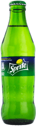 Image of sprite bottle