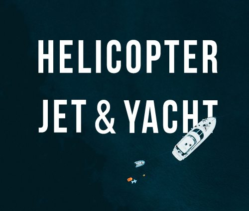 Image of yacth jet heli